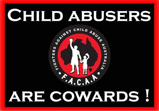CHILD ABUSERS ARE COWARDS