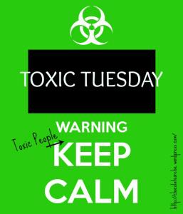 Toxic Tuesday biochem hazard