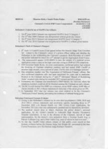 14 09 08 Position Statement Defendants Tactics p1